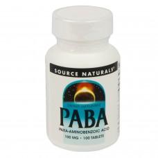 パバ(パラアミノ安息香酸)