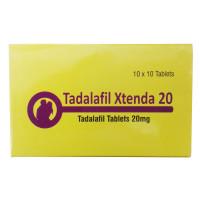 タダラフィルエクステンダ20mg10錠(シアリスジェネリック)