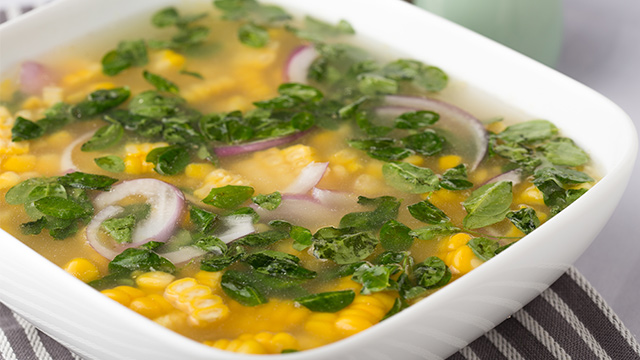 フィリピンのモリンガスープ
